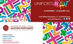 INVITO UNIFORTUNART vernissage venerdì 28 novembre 2014ore 19,00 BENEVENTO