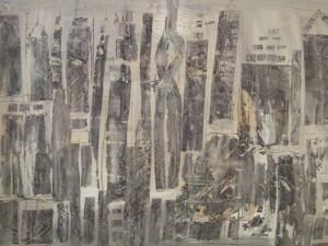 leopapp misto acrilico su legno titolo Città con la nebbia misure  54x68 cm anno 2013- 20130923_104918