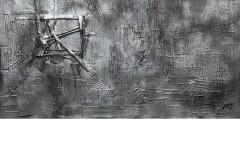 leopapp tecnica misto acrilico su tela titolo ground zero 11.09.2001 misure cm 85x125   anno 2014 IMG_2886 - Copia