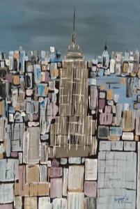leopapp tecnica misto acrilico titolo Empire state building misure 48 ,5x 72 cm anno 2013  20131016_103537-1