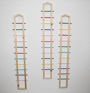leopapp 3 installazione legno e plastica misure l.2,5 larg. 22 h 133 nr. 3 - colorful hause 2014