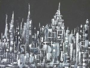 autore-leonardo-pappone-leopapp-titolo-black-and-white-city-nr-1-tecnica-misto-acrilico-su-juta-formato-70x90-cm-anno-2017-1-1-1