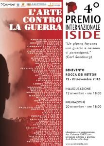 Locandina 4 premio internazionale isiede 2016