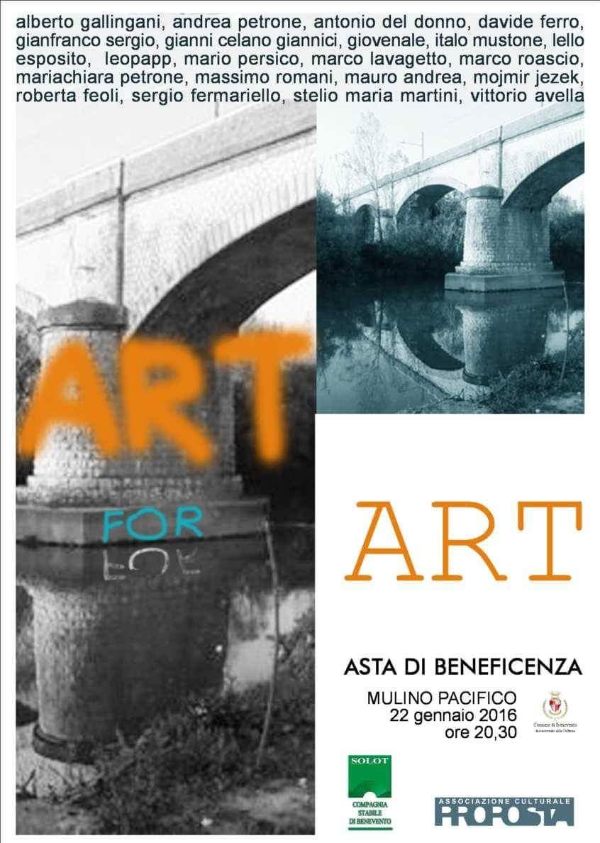 Art for Art, benevento Art for Art, leopapp Art for Art