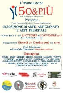 Locandina mostra associazione 50&piu 27 ottobre 02 novembre 2016 IMG-20161025-WA0000