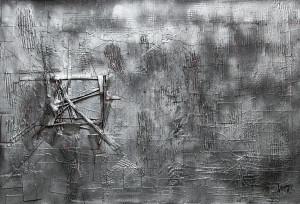 leopapp tecnica misto acrilico su tela titolo ground zero 11.09.2001 misure cm 85x125   anno 2014 IMG_2886