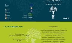 Caudium festival park, caudium art, sant'agata dè goti Leopapp